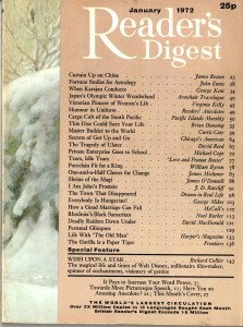 Readers Digest cover