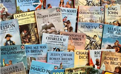 Kenney's Ladybird books