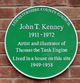 John Kenney plaque