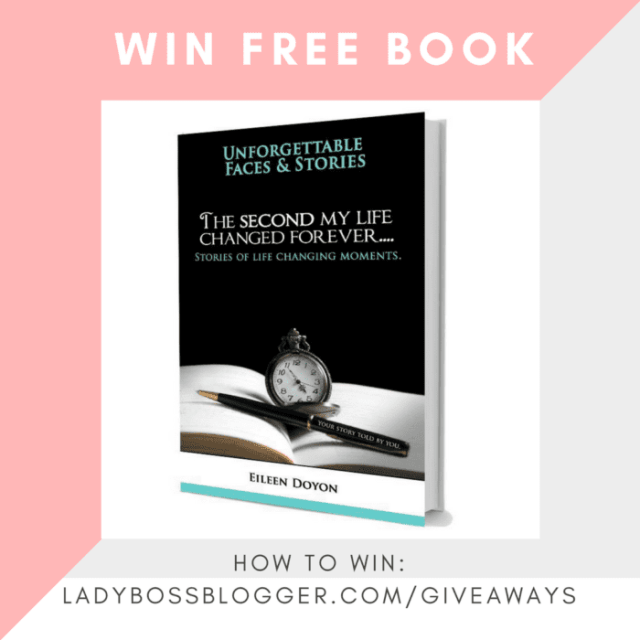 Giveaways on ladybossblogger WIN FREE BOOK