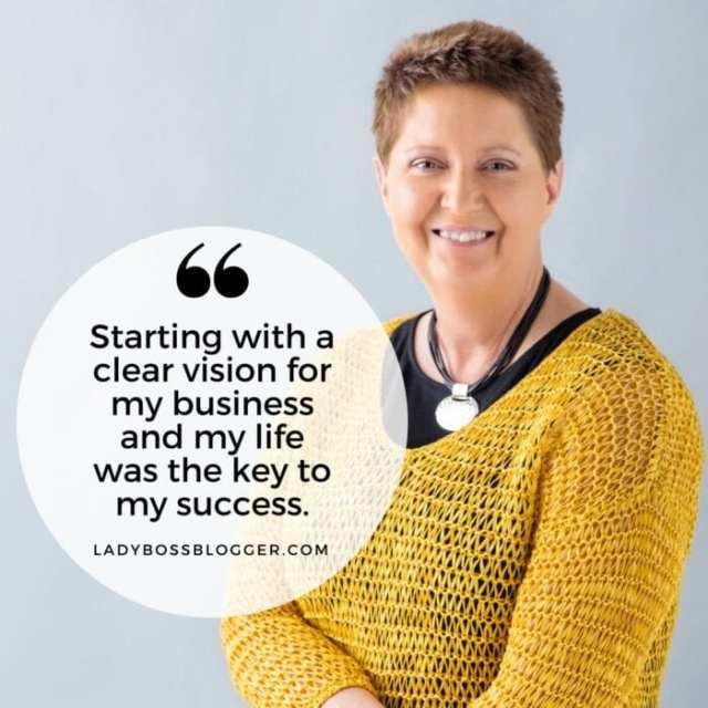 Female entrepreneur lady boss blogger Cheryl Mauldin