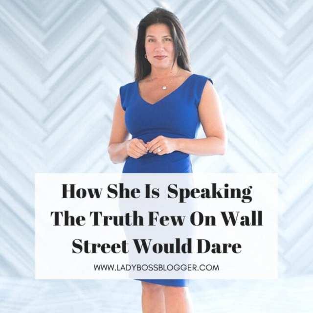 Female entrepreneur lady boss blogger Danielle DiMartino Booth author