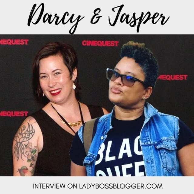 Female entrepreneur lady boss blogger Darcy and Jasper Totten public relations