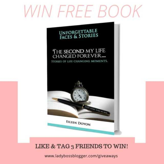 Giveaways on ladybossblogger free book by Eileen Doyon