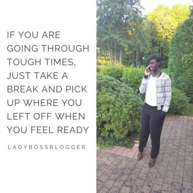 Female entrepreneur lady boss blogger N'Gane Grandjean virtual assistant