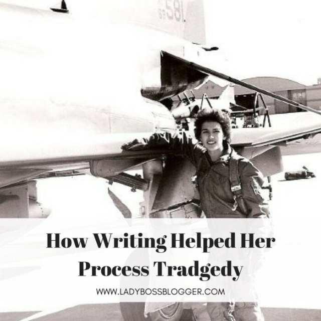 Female entrepreneur lady boss blogger Theresa James author of Healing Tears