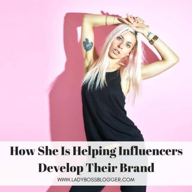 Female entrepreneur lady boss blogger Kristin Brause instagram branding