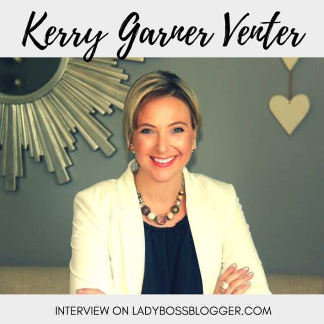 Female entrepreneur lady boss blogger Kerry Garner Venter joy facilitator and coach