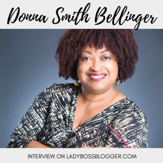 Female entrepreneur lady boss blogger Donna Smith Bellinger How To Sell Yourself