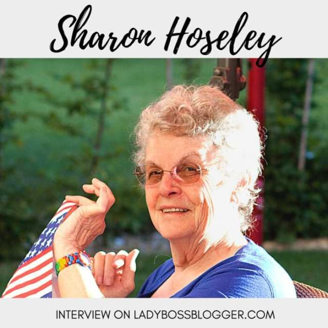 Female entrepreneur lady boss blogger Sharon Hoseley author