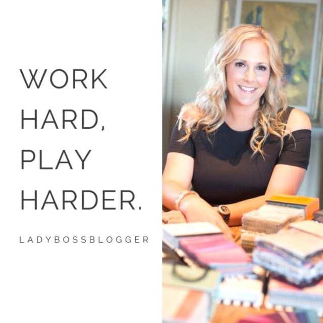 Female entrepreneur lady boss blogger Marisa Manna Ferrell wedding and event planner