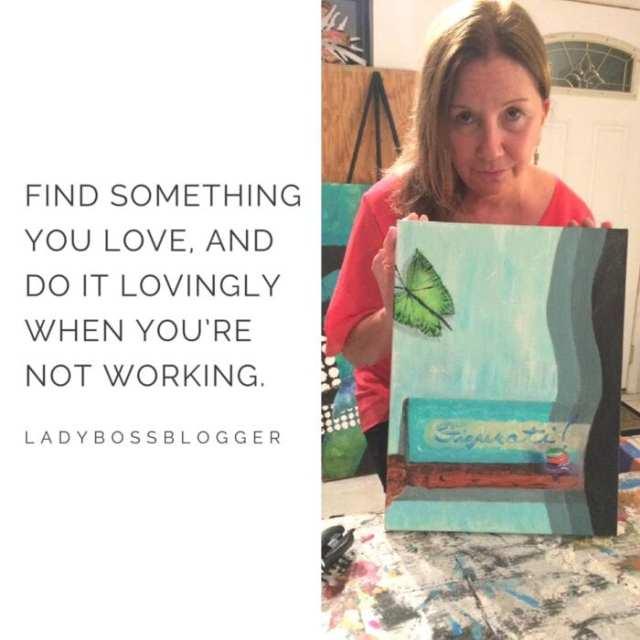 Female entrepreneur lady boss blogger Carmen McGuinness therapist
