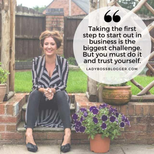 Female entrepreneur lady boss blogger Rose Hodson custom stationary