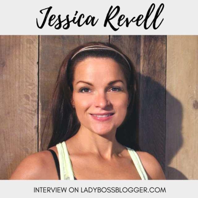 Female entrepreneur lady boss blogger Jessica Revell fitness mom