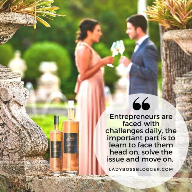 Female entrepreneur lady boss blogger Aylin Doker wine and spirits
