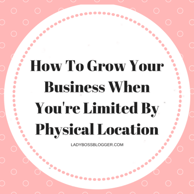 Entrepreneurial resources by female entrepreneurs written by Dlang Ferguson How To Grow Your Business When You're Limited By Physical Location