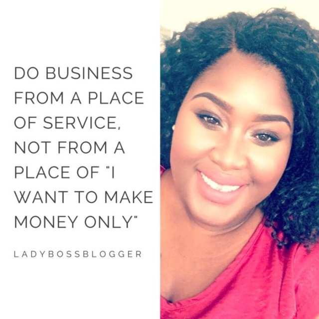 Female entrepreneur lady boss blogger Gabrielle Leonard Event Sponsorships
