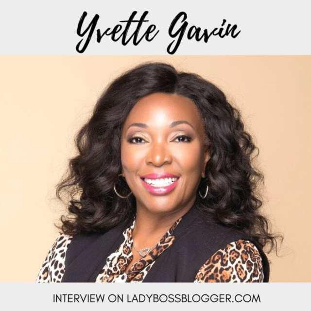 Female entrepreneur interview on ladybossblogger Yvette Gavin career coach