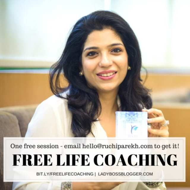 Female entrepreneur interview on ladybossblogger featuring Ruchi Parekh Life and Business coach