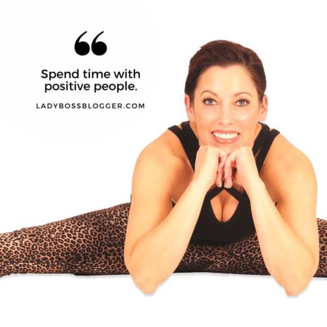 Female entrepreneur interview on ladybossblogger featuring Tarra Mitchell author and yoga instructor