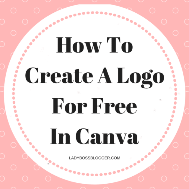 How To Create A Logo For Free in Canva by Johanna King founder of The Brilliance Bar #canva #logo #design #logodesigner