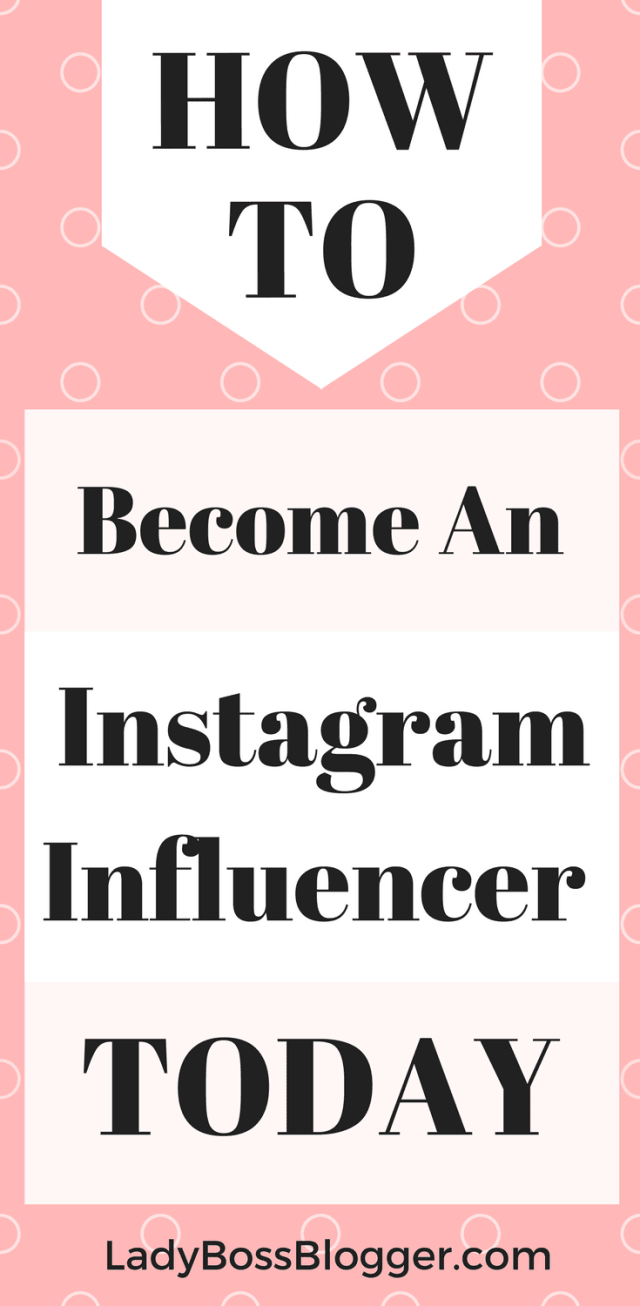 How To Become An Instagram Influencer written by Elaine Rau #instagraminfluencer #instagram #influencer