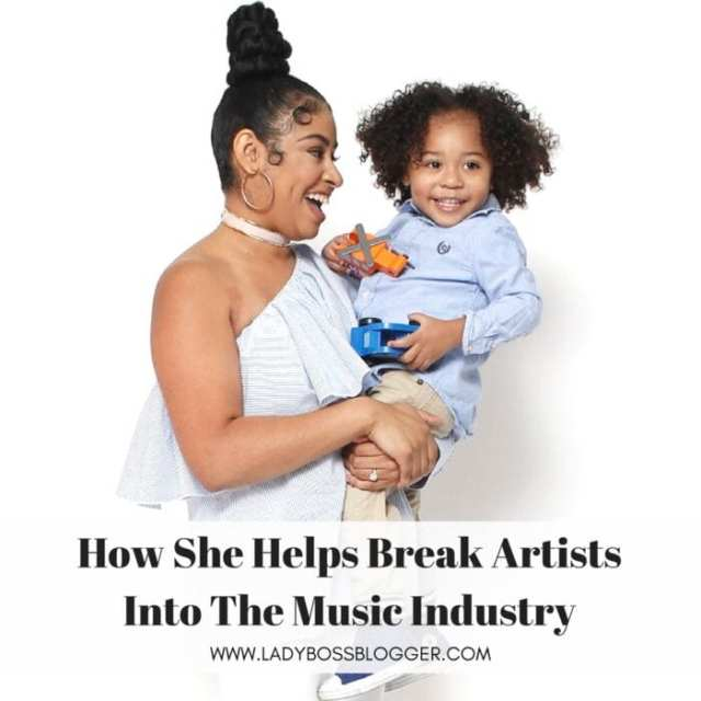 Female entrepreneur interview on ladybossblogger featuring Chanel Rae Pettaway PR for musicians