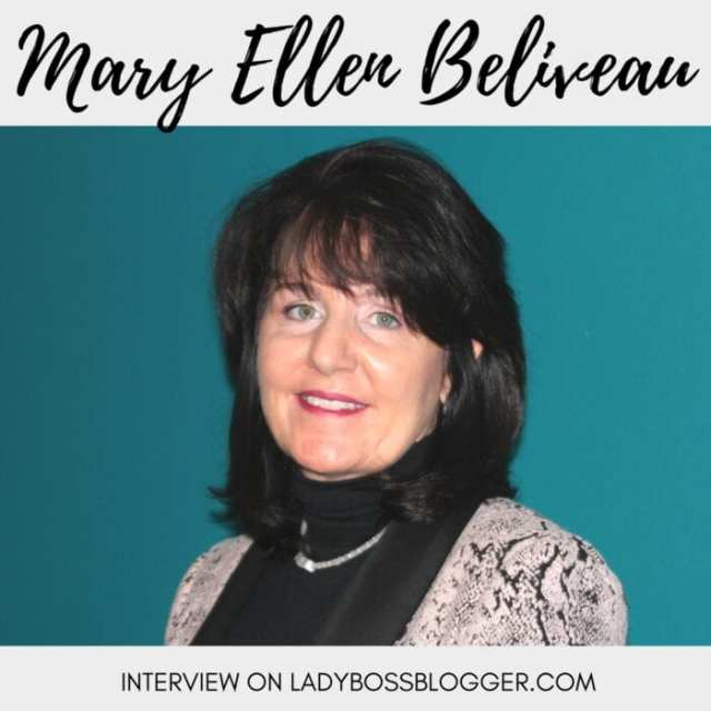 Female entrepreneur Interview on ladybossblogger featuring Mary Ellen Beliveau Knowledge To Practice for Physicians