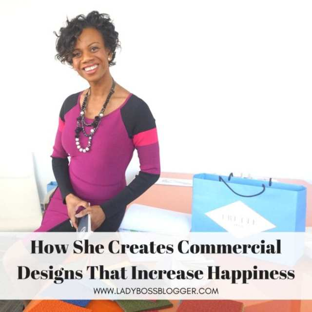 Female entrepreneur Interview on ladybossblogger featuring Ronda Jackson interior designer