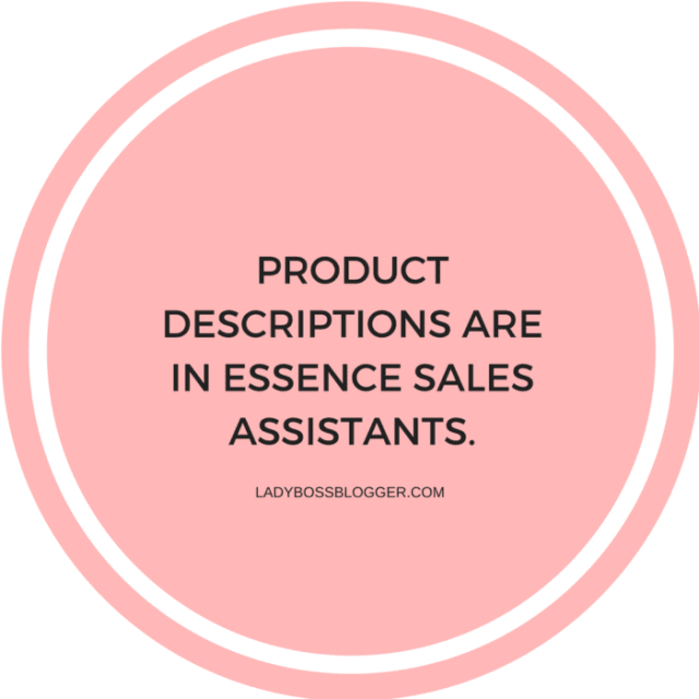How To Write Compelling Product Descriptions That Boost Sales LadyBossBlogger.com