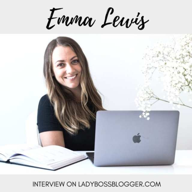 Female entrepreneurial Interviews on lady boss blogger featuring Emma Lewis