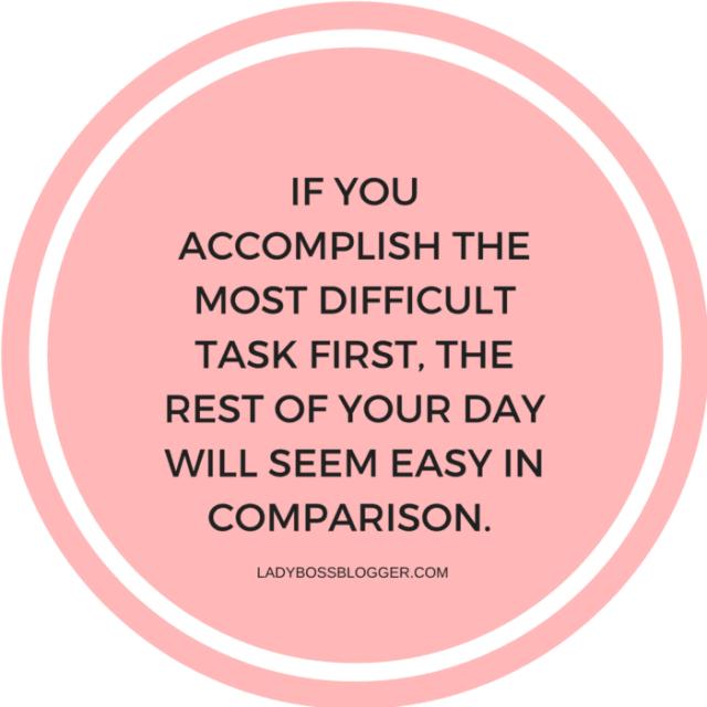 How To Conquer Your To-Do List Like A CEO LadyBossBlogger.com