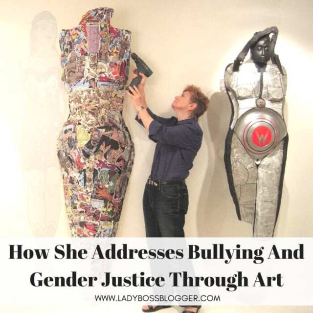 Linda Stein Addresses Bullying And Gender Justice Through Art