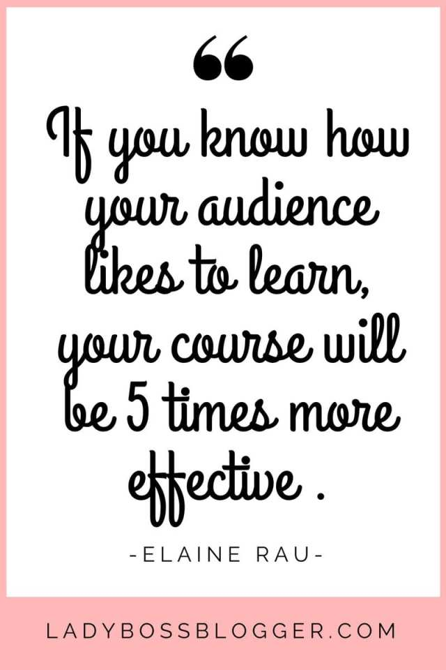 How To Come Up With A Profitable Course Idea on LadyBossBlogger.com written by Elaine Rau