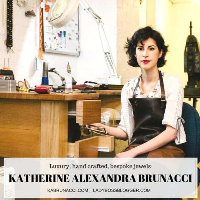 Katherine Alexandra Brunacci Crafts One Of A Kind Jewels on ladybossblogger.com
