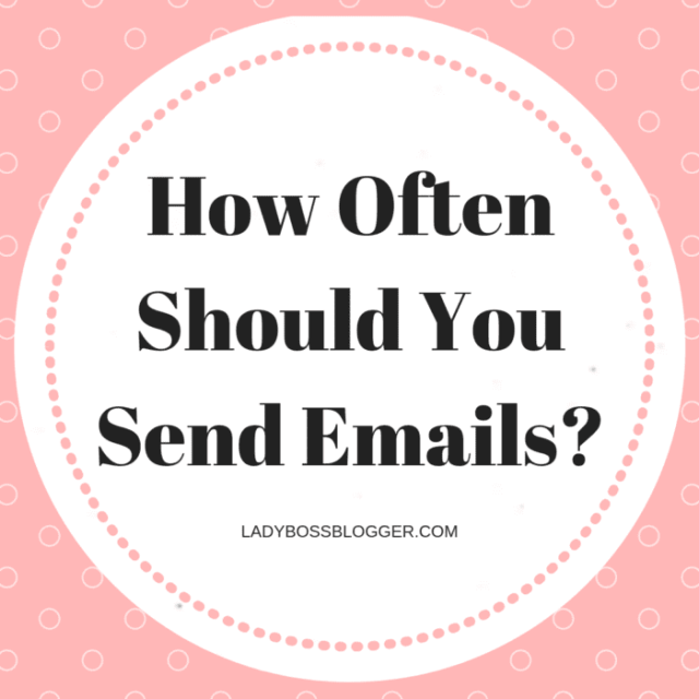 How Often Should You Send Emails?