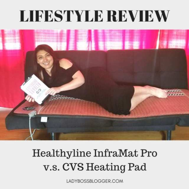 Healthyline InfraMat Pro Review by Elaine Rau founder of LadyBossBlogger.com