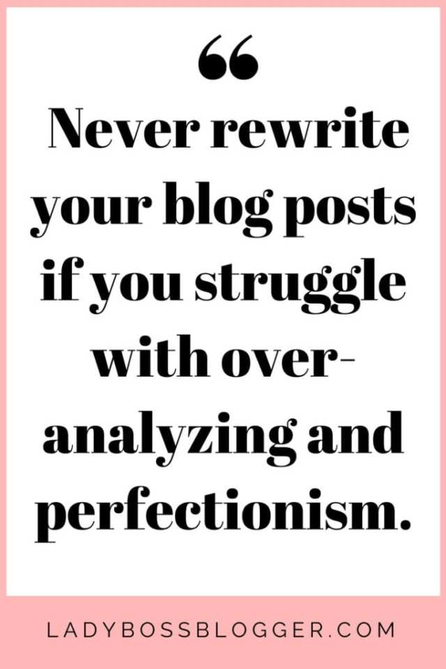 How To Keep Publishing New Content Without A Team of Writers on ladybossblogger.com