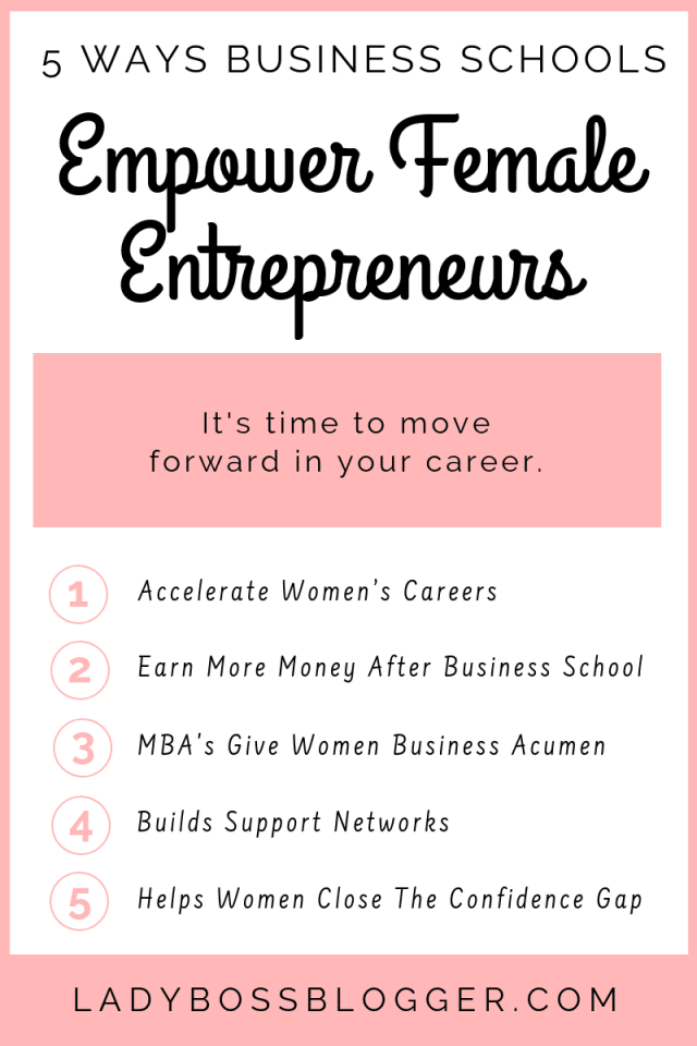 5 Ways Business Schools Empower Female Entrepreneurs