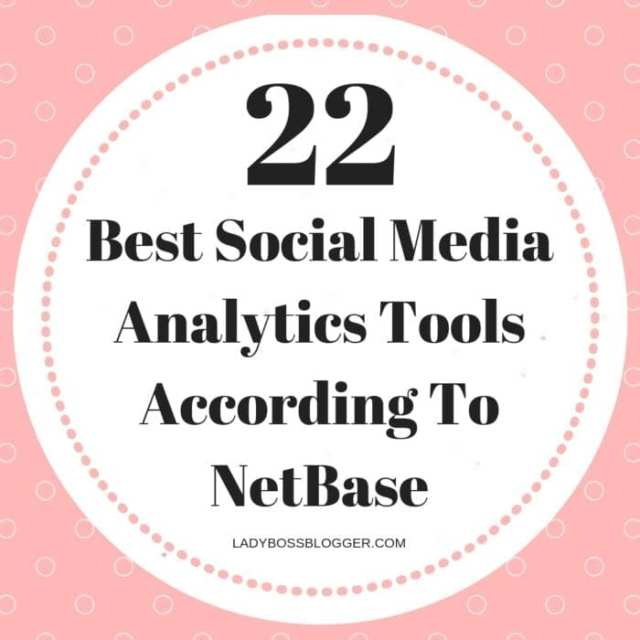 22 Best Social Media Analytics Tools According To NetBase