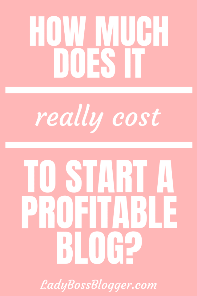 How Much Does It Really Cost To Start A Blog?