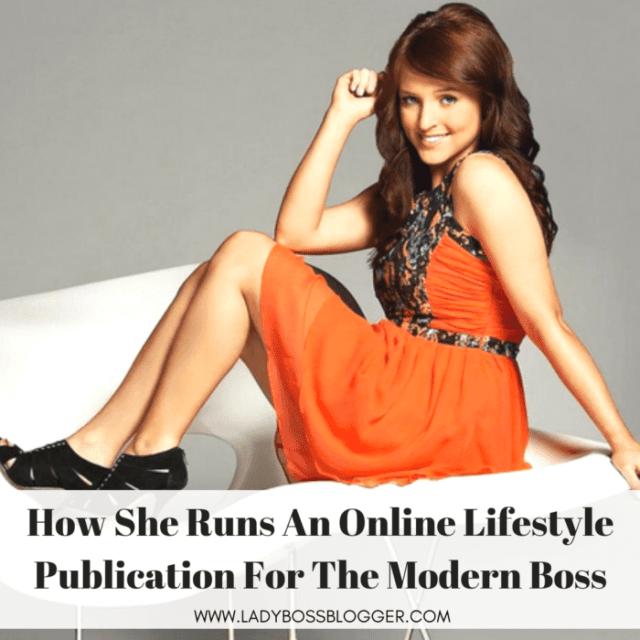 Jordy Lucas Runs An Online Lifestyle Publication For The Modern Lady Boss