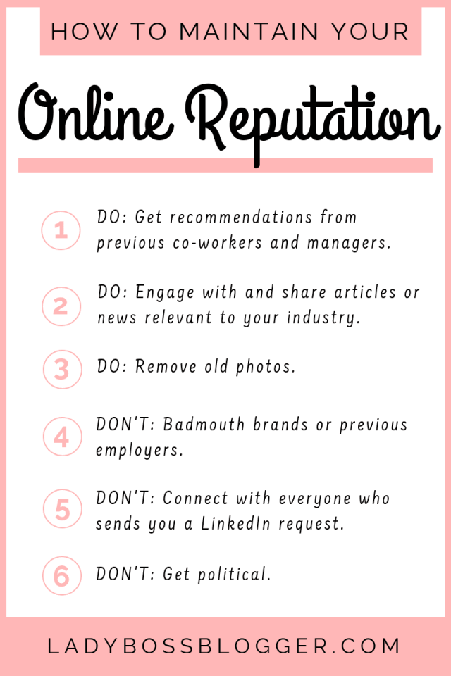 How To Manage Your Reputation On Social Media