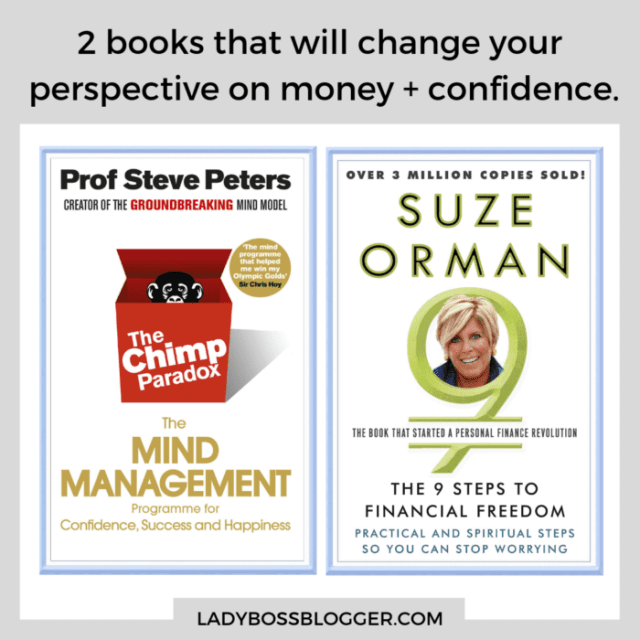 books on money and confidence ladybossblogger