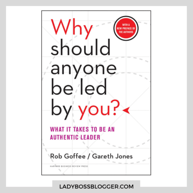 why should anyone be led by you? ladybossblogger