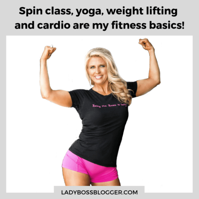 spin class, yoga, weight lifting, cardio ladybossblogger