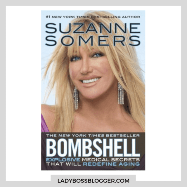 Suzanne Somers BOMBSHELL ladybossblogger