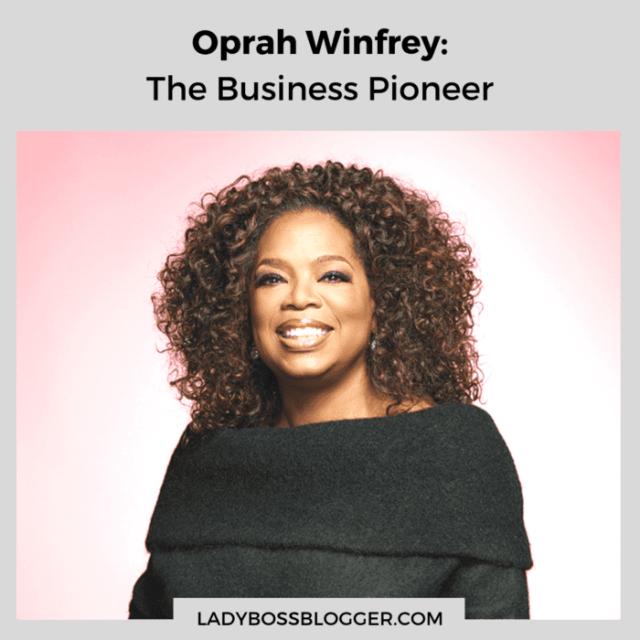Oprah Winfrey ladybossblogger