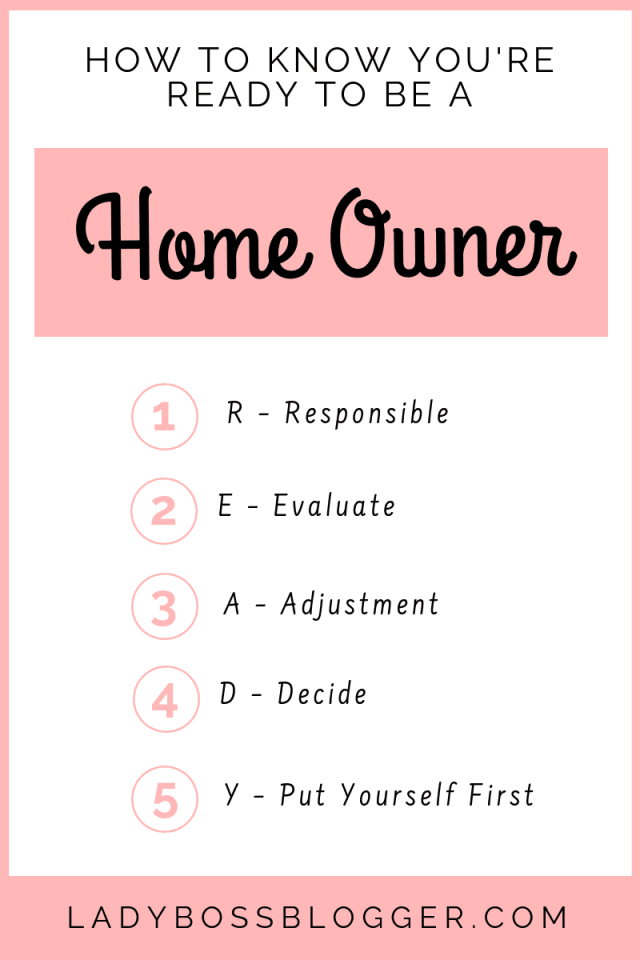 How To Know You're Ready To Be A Homeowner