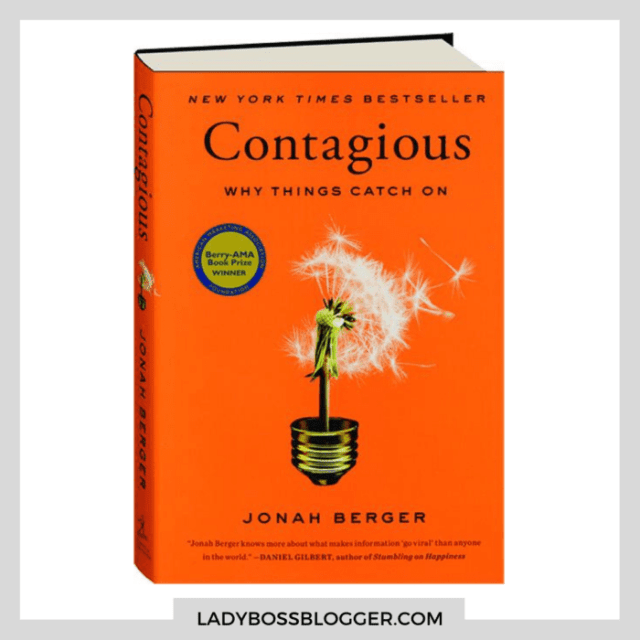 contagious book ladybossblogger